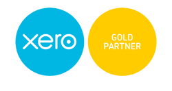 Xero cloud accounting software Gold Partner logo