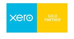 Xero cloud accounting software - Gold Partner logo