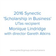 Synectic UTas Scholarship in Business