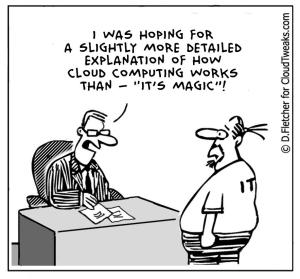 cloud computing is magic - D.Fletcher for CloudTweaks.com