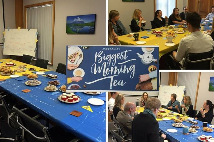 Synectic Accountants Advisers Cancer Council Biggest Morning Tea