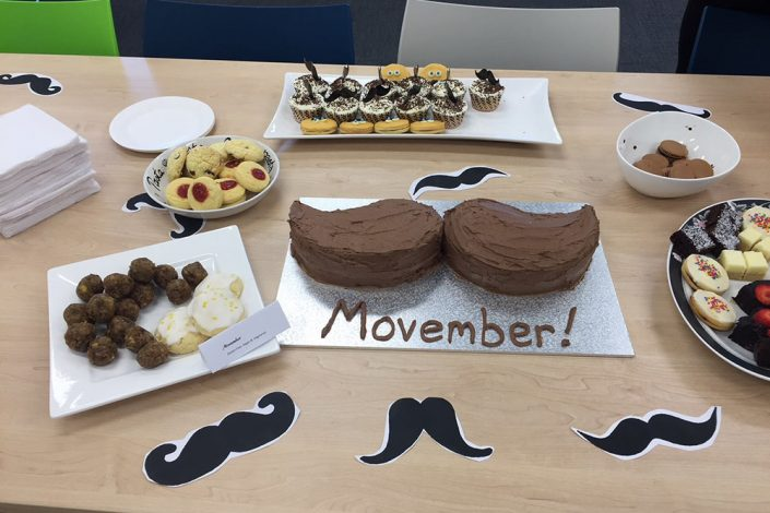 Synectic Accountants Advisers Movember 2018
