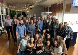 Synectic team at their 2019 Christmas party