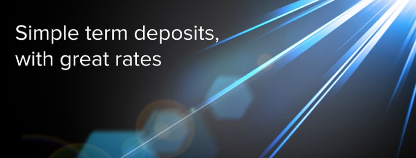 simple Term Deposits with great rates
