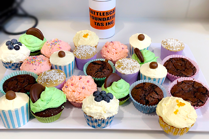 Synectic Accountants Advisers Battlescars cupcake day
