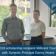 2019 Synectic UTas Scholarship in Business recipient